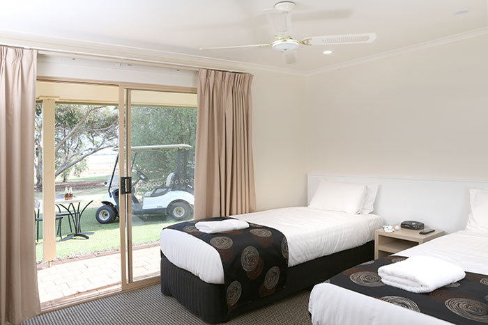 swan hill accommodation deluxe suite